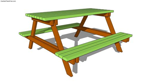 free picnic table plans picnic table plans free
