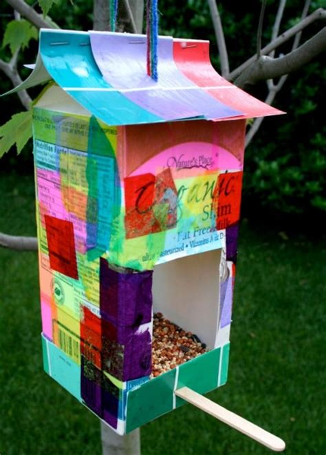 easy bird feeder crafts for bird feeder craftsfun family crafts