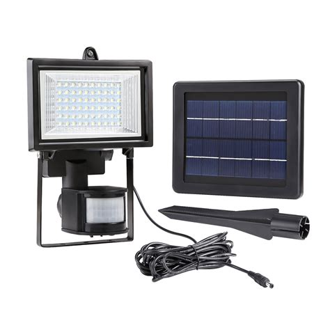 led solar flood light solar flood light pir motion sensor solar powered