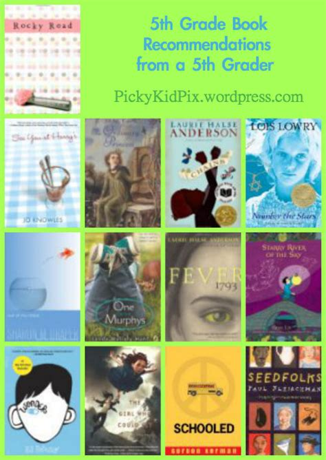 grade 5 picture books 5th grade book recomendations from a 5th grader picky