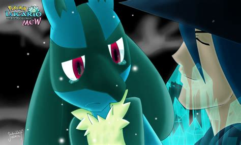 Lucario And The Mystery Of Mew By Sadowwolfkact On