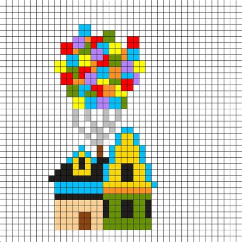 disney perler bead designs 25 best ideas about disney up house on canvas