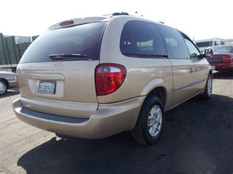 how it works cars 2001 dodge caravan user handbook buy used 2001 dodge caravan no reserve in anaheim
