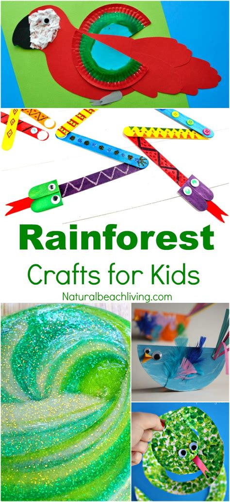 rainforest crafts for 10 amazing rainforest crafts can make