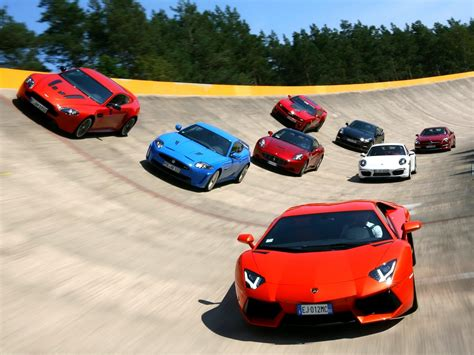 Car Track Wallpaper by Fondos De Pantalla Famosa De Autos Deportivos