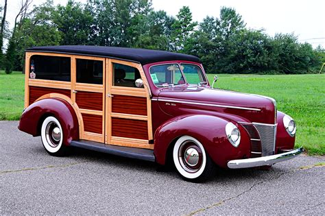 Ford Woody by 1940 Ford Woody Is Best Ford In A Ford With 4 6l Rod