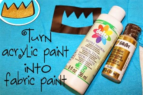 acrylic paint upholstery turn acrylic paint into fabric paint silhouette cameo