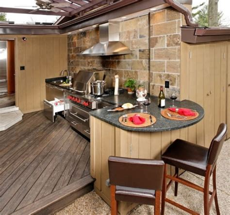 kitchen designs for small areas 95 cool outdoor kitchen designs digsdigs