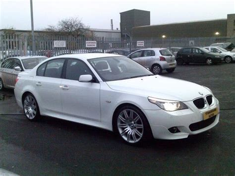 2008 Bmw 5 Series For Sale by Used Bmw 5 Series 2008 White Colour Diesel 520d M Sport