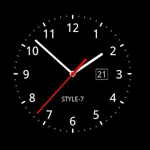 descargar reloj digital para escritorio windows 7 analog clock live wallpaper 7 android apps on google play