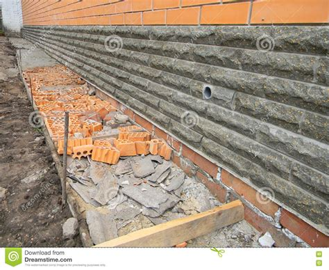 waterproof basement construction building foundation waterproofing new construction