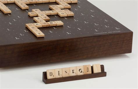 limited edition scrabble scrabble typography 2nd edition the dieline packaging