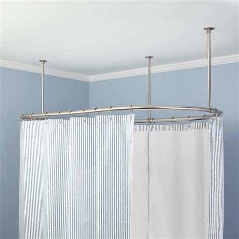 bathroom shower curtain rod oval solid brass shower curtain rod shower curtain rods