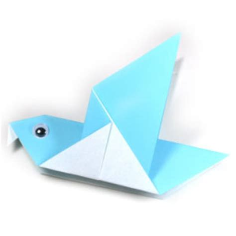 easy origami bird for how to make a traditional origami pigeon page 1