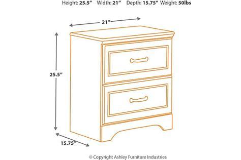 nightstand dimensions standard lulu nightstand furniture homestore
