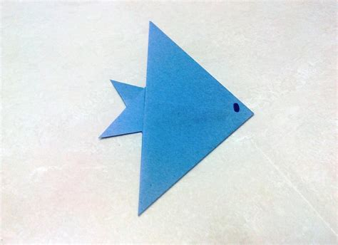 easy origami fish how to make an origami fish