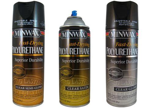 spray paint polyurethane top coats