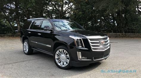 How Much Is A Cadillac Suv by 2016 Cadillac Escalade Platinum Review Slashgear
