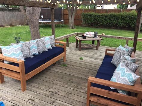 furniture projects best 25 diy outdoor furniture ideas on