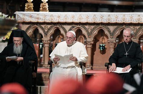 le discours du pape fran 231 ois 224 assise la croix