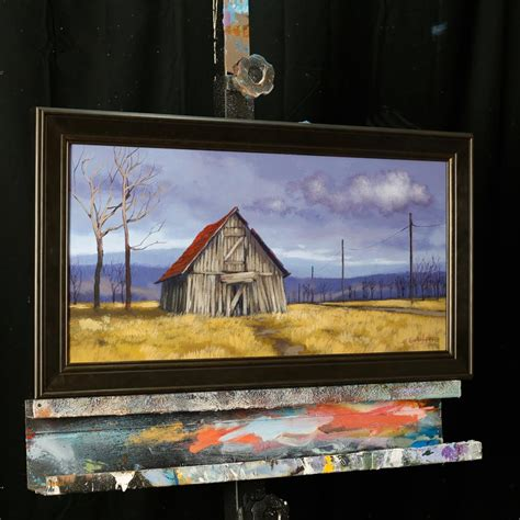 acrylic painting classes jacksonville fl the dilapidated barn acrylic painting lesson