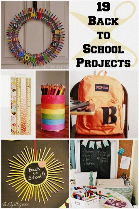 craft ideas for school projects 19 back to school ideas crafts organization and