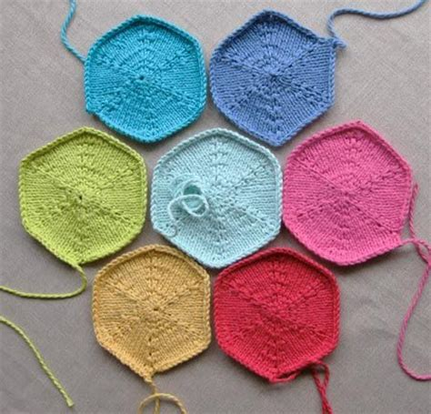 hexagon knitting pattern free 17 best images about knitting hexagon on