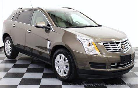 Cadillac 2014 Suv by 2014 Used Cadillac Srx Certified Srx Luxury Collection Awd