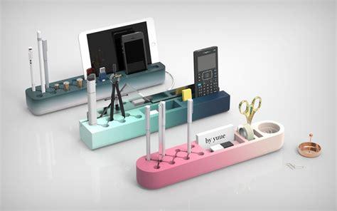 designer desk organizer one desk organizer clever cuts and color gradients