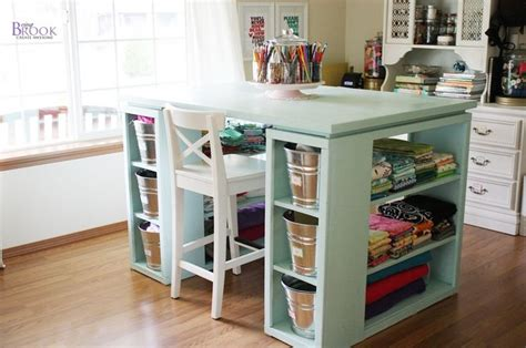 craft table with storage for craft tables with storage attempting to organize your