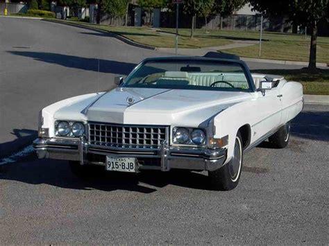 73 Cadillac Eldorado Convertible by 1973 Cadillac Eldorado For Sale Classiccars Cc 158256