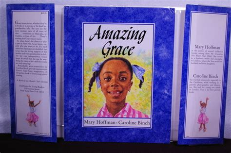 amazing grace picture book amazing grace reading rainbow books hoffman
