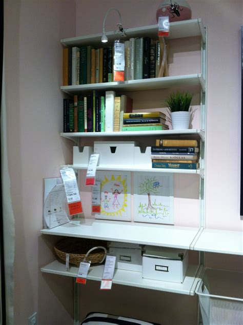 algot ikea hack ikea wall shelves algot home office organization