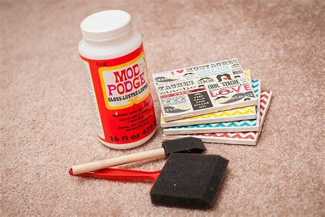 mod podge crafts for the lakeland mirror summer craft ideas with mod podge