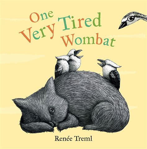 wombat picture book exciting news for wombat and me renee treml artwork
