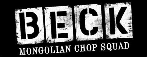 mongolian chop squad beck mongolian chop squad font forum dafont