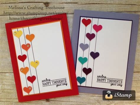 easy make cards 25 unique simple handmade cards ideas on