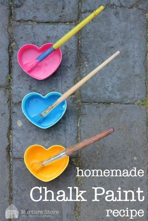 diy chalk paint consistency chalk paint recipe plays and kid