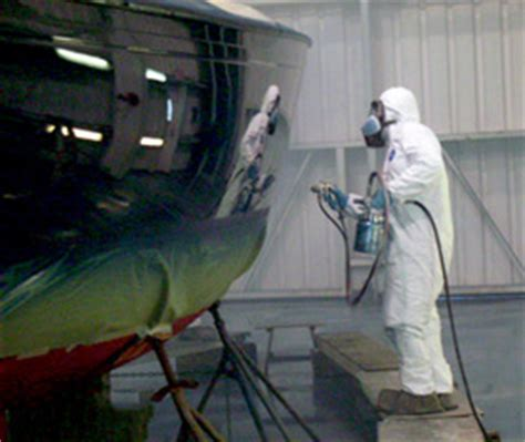 spray painting fiberglass portsmouth rhode island hinckley yachts