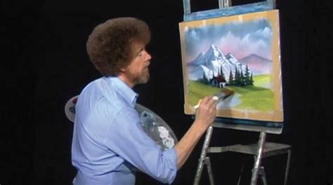 bob ross the happy painter bob ross the happy painter to air on woub hd august 5