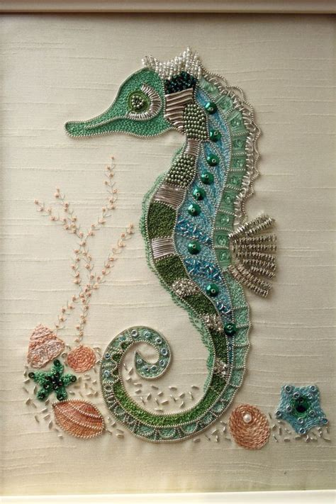 free bead embroidery free pattern bead embroidery wall theme
