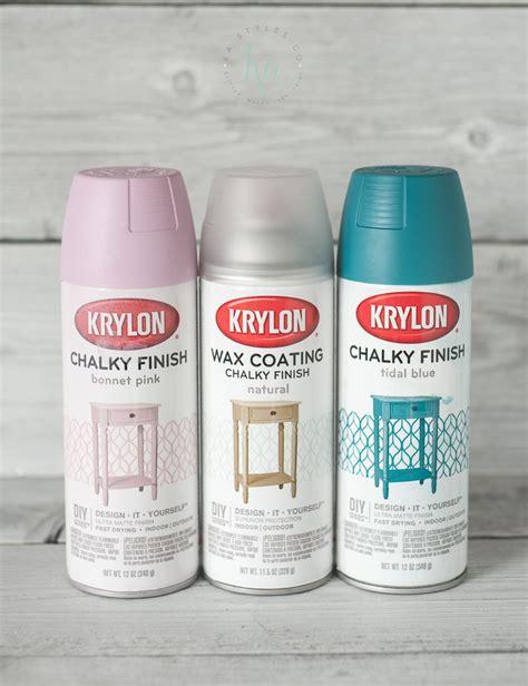 chalk paint spray krylon chalk finish paint ka styles