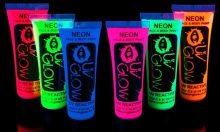 glow in the paint halfords uv glow neon and paint groupon goods