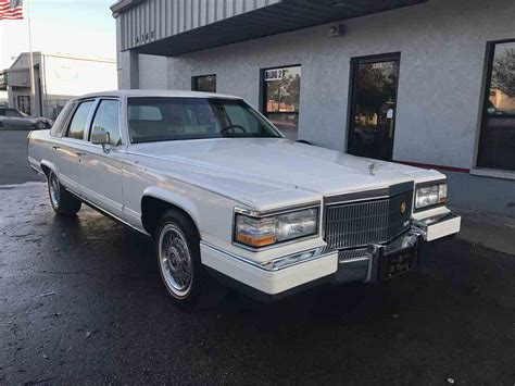 1992 Cadillac Brougham For Sale 1992 cadillac fleetwood brougham for sale classiccars