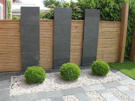 patio landscape design ideas black slate flagstones modern patio landscaping