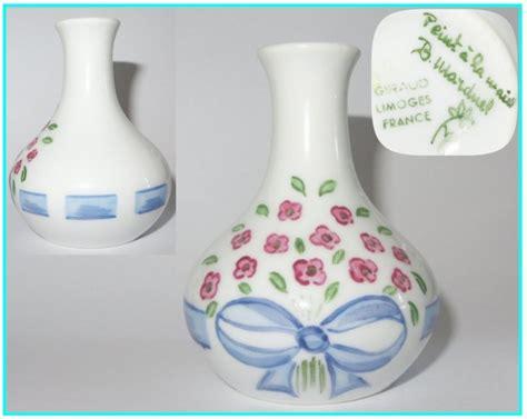 vase miniature maison poupee d 233 cor peint 224 la giraud porcelaine de limoges ebay