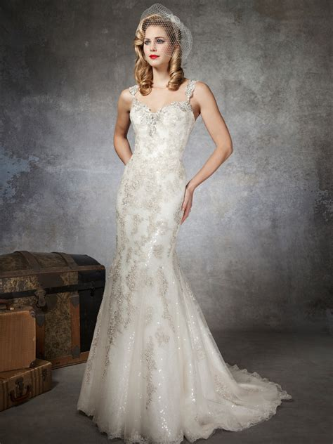 beaded wedding dress fully beaded wedding dresses for luxurious bridal attire