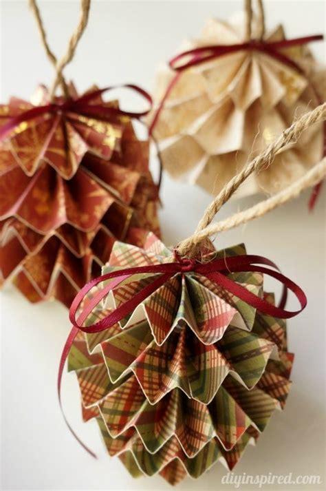 paper ornaments crafts diy paper ornaments diy inspired