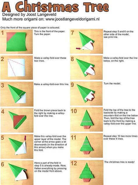 how to fold an origami tree 1000 images about cards with origami folded elements on