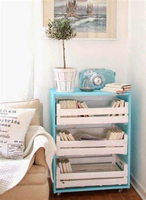 l id 233 e d 233 co du samedi un meuble de rangement avec des palettes et des cagettes floriane lemari 233